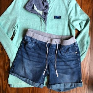 Justice for Girls Jean Shorts With Elastic Waist